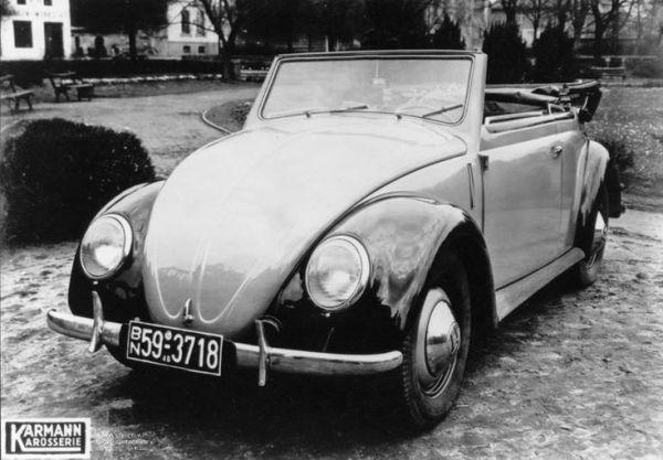 VW 1948 Beetle cabrio Karmann