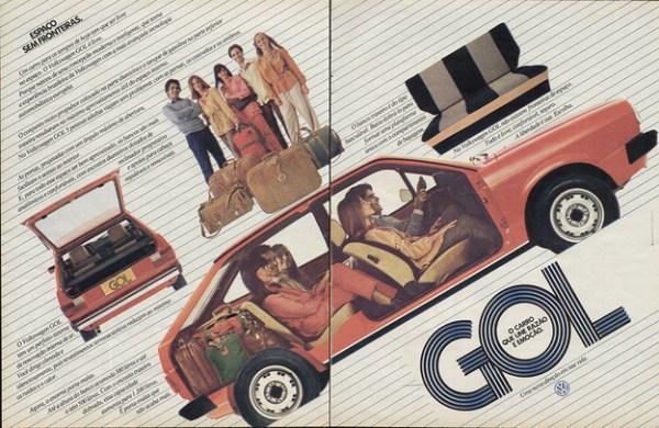 VW Gol ad