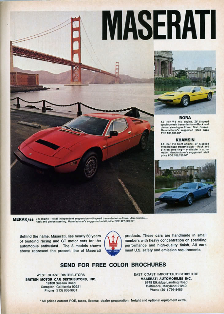 Classic Magazine Ads (And More): Road & Track, June 1978