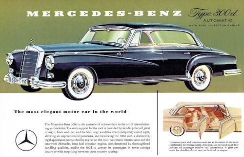 Mercedes-Benz tpe 300D - 1958