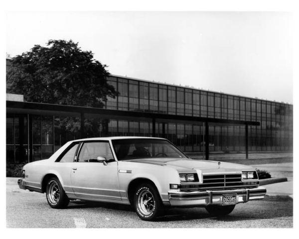 1978 buick lesabre sport coupe factory photo