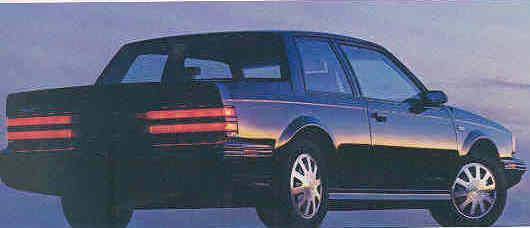 1986 buick century gs rear