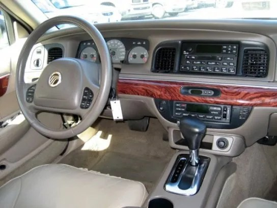 2002 mercury grand marquis lse interior