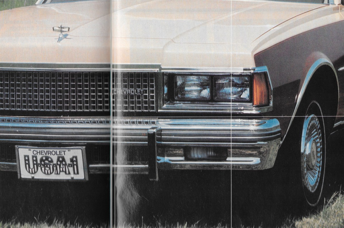 All Chevy 1977 chevrolet : Vintage Review: 1977 Chevrolet Caprice – A Whole New Ball Game