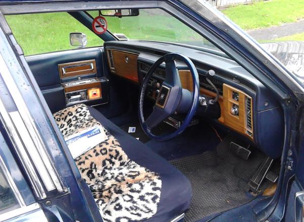 Cadillac 1981 COAL dash