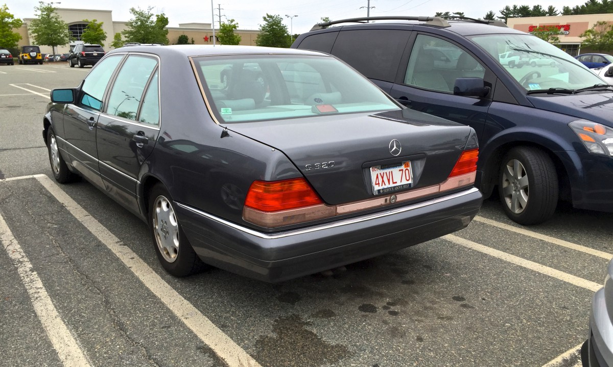 Curbside Classic 1995 Mercedes Benz S320 W140 Over Engineered Evaporator Mercy C Class W204 Saur 3