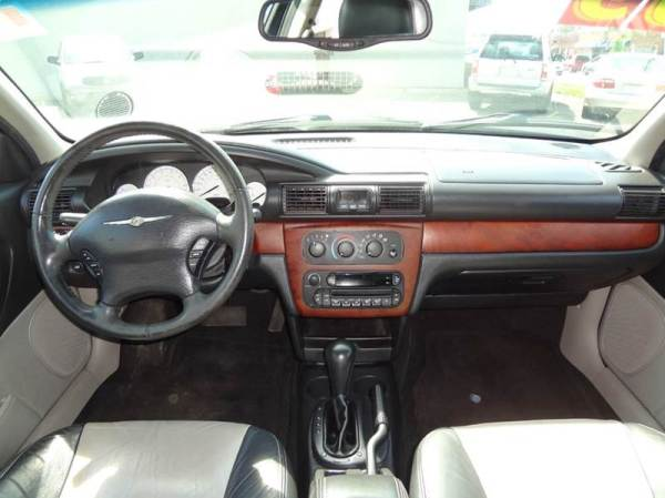 chrysler sebring tsi interior