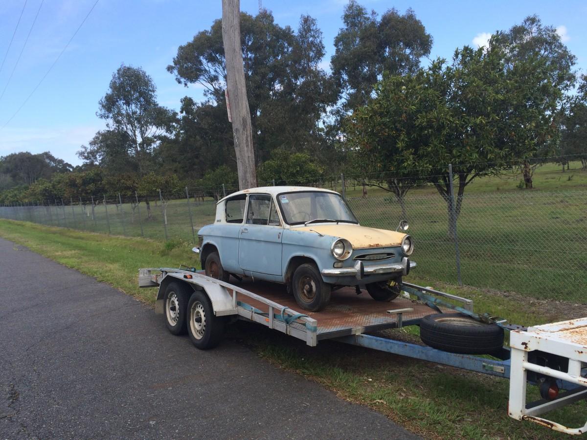 Curbside Classics: 1962-64 Mazda 600 – Carols, And It\'s Not Even ...