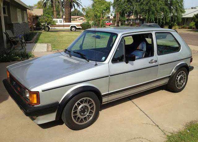 1983 VW Rabbit GTi ...