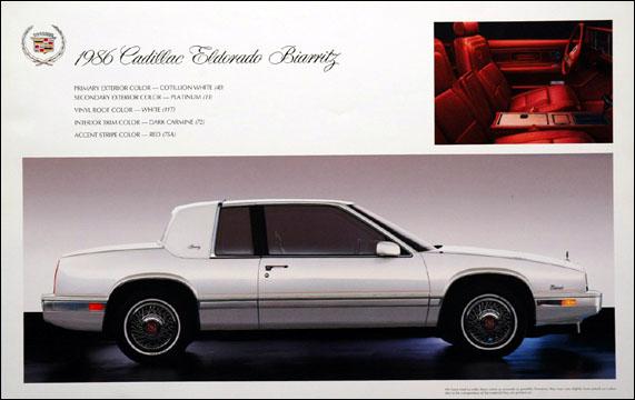 1986 cadillac eldorado biarritz