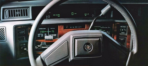1986 cadillac touring interior