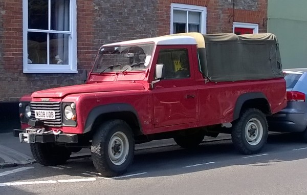 1994 Land Rover series III 110.2
