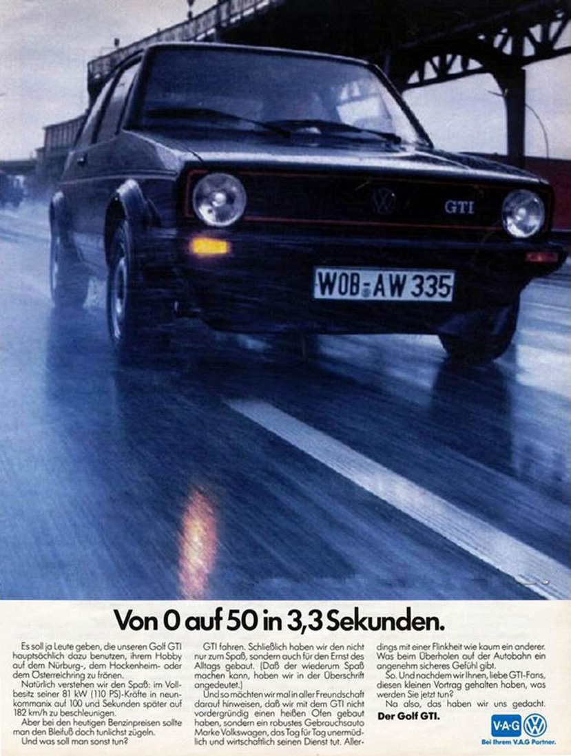 Curbside Classic 1983 Volkswagen Rabbit Gti When Fun Hopped Shortly After The Golf Was Introduced European Markets Received A High Performance Model Featuring More Powerful Fuel Injected Engine 110 Hp
