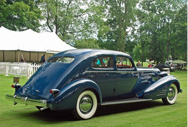 Cadillac 1936 V16 aerodynamic coupe