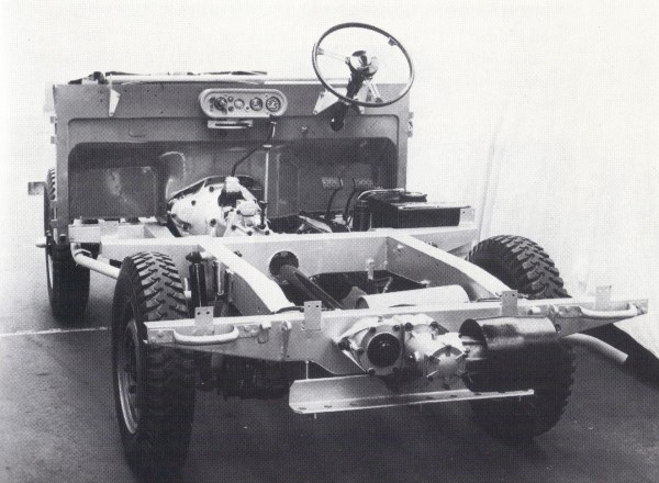 Land Rover chassis 1948.2