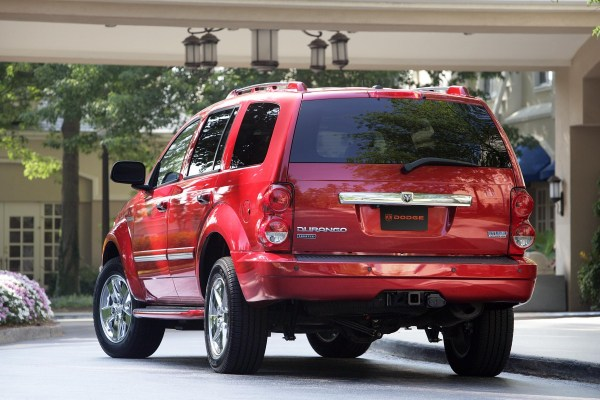 dodge durango hybrid rear