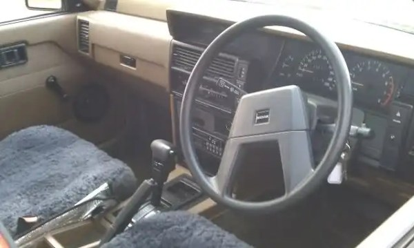 nissan skyline r31 interior