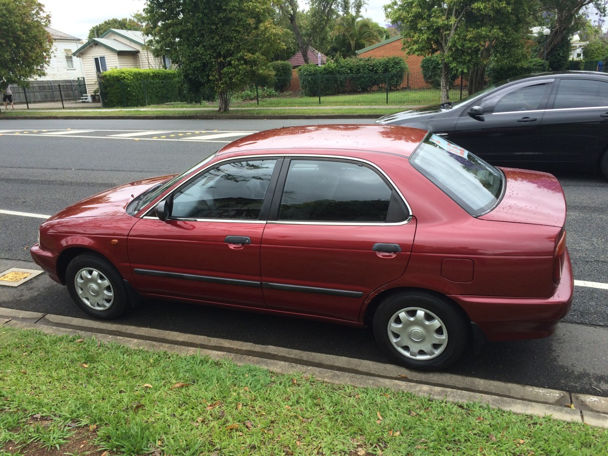 Curbside Capsule: 1995-2002 Suzuki Esteem/Baleno – Too Dull To Inspire A  Clever Title