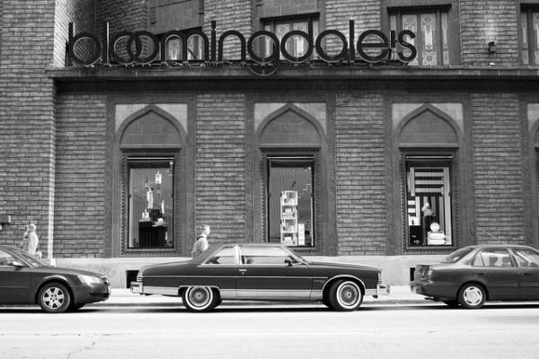 1977 Pontiac Bonneville Brougham - B&W