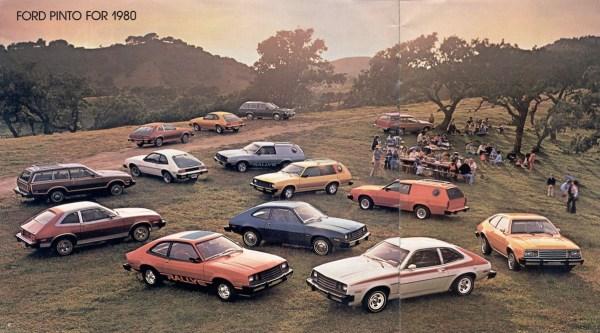 1980 ford pinto range