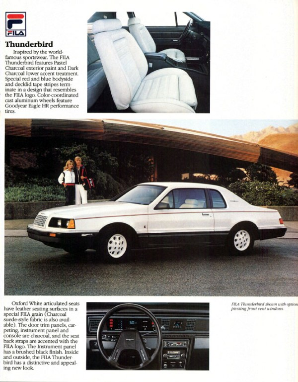 1984 ford thunderbird fila 2