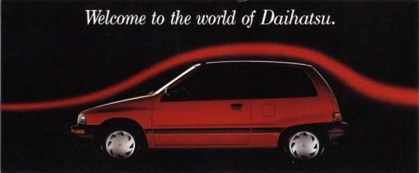 1988 Daihatsu Brochure C