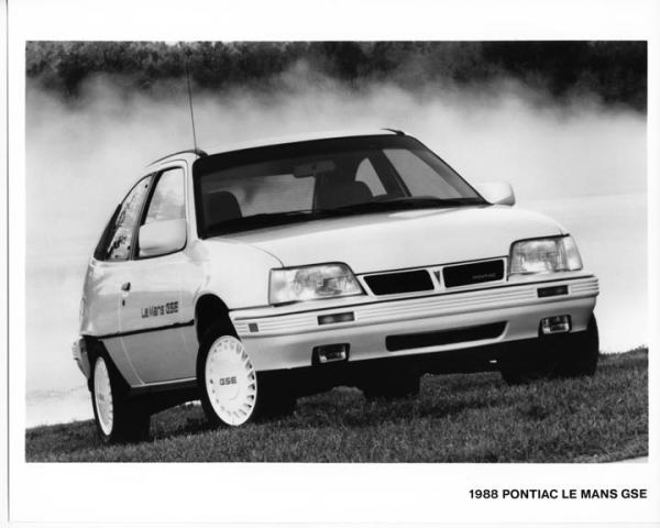 1988 pontiac lemans gse 2