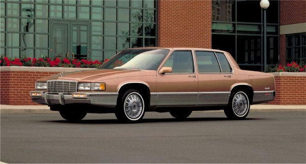1991 Cadillac de Ville amber