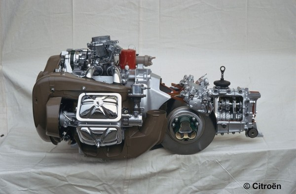 Curbside Citroen Engine Profile
