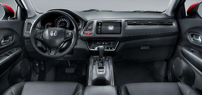 Honda-HR-V-2016-EXL-interior-painel-GPS