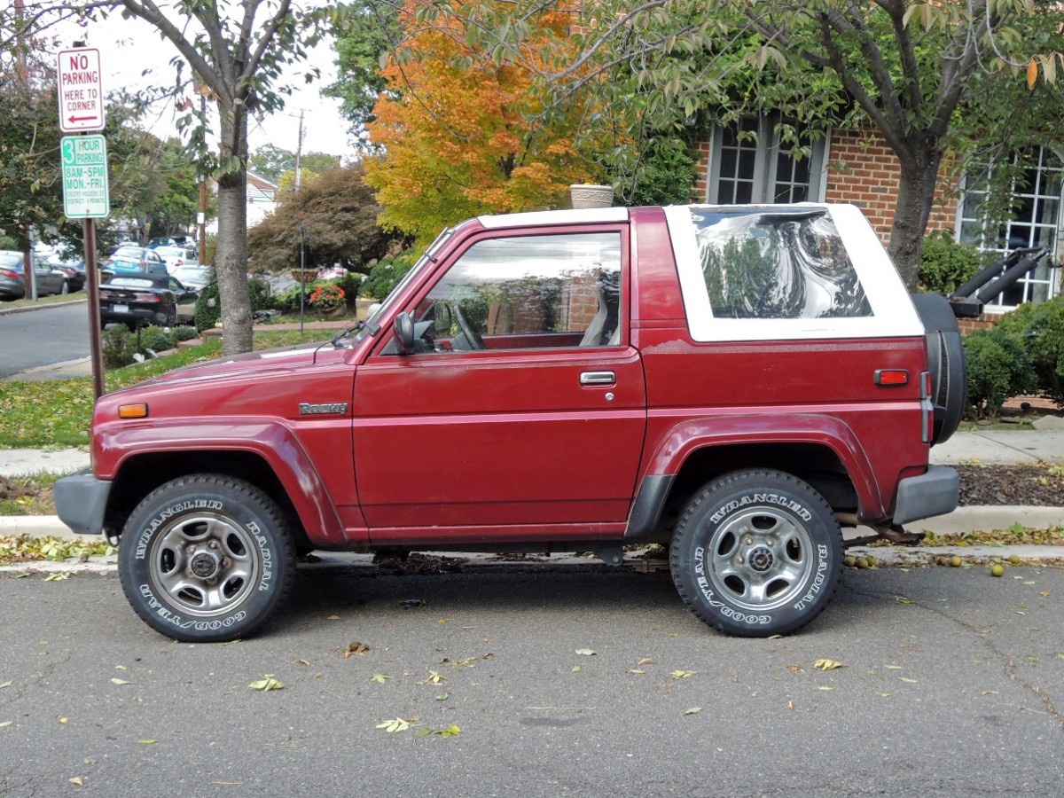 Curbside Classic 1990 Daihatsu Rocky SE Technical Knockout