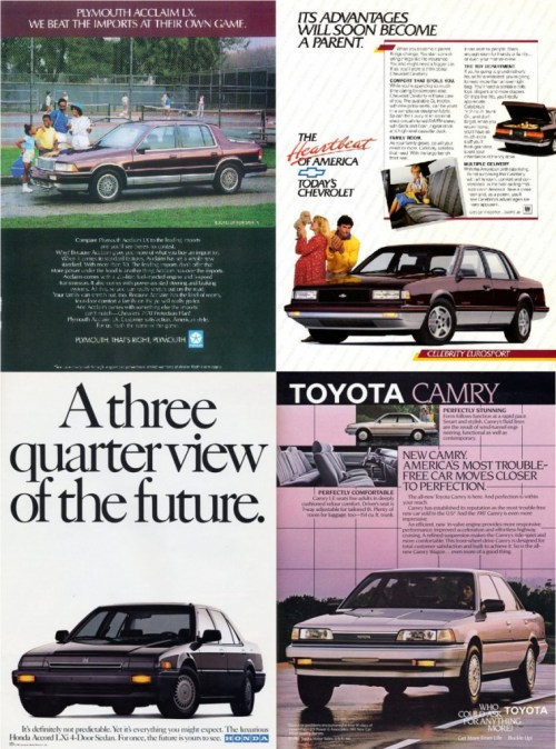 Late 1980s Competitors to Taurus