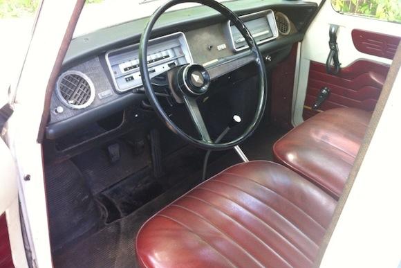Coal 1965 Renault 8 Beginnings