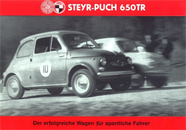 Steyr Puch 650 TR ad