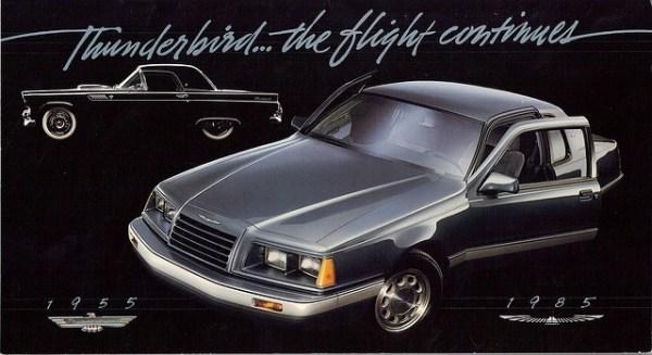 ford thunderbird 30th