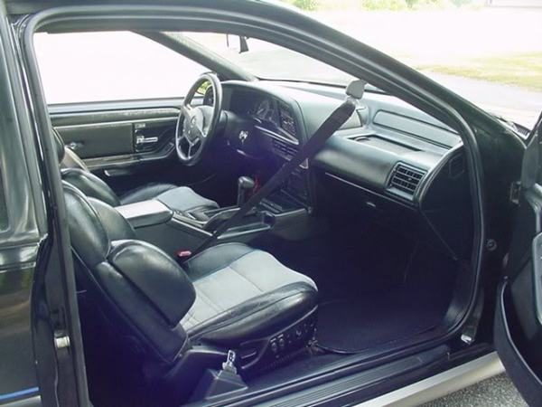 ford thunderbird 35th anniversary interior