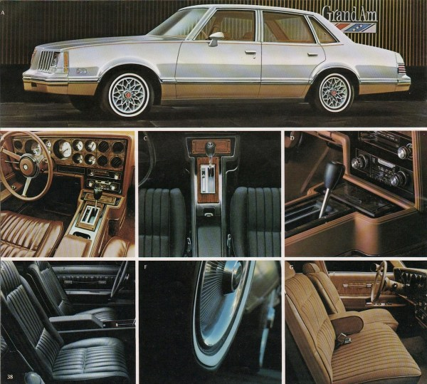 1978 pontiac grand am sedan brochure