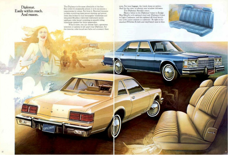 Curbside Classic: 1980 Dodge Diplomat Coupe – The Winter ...