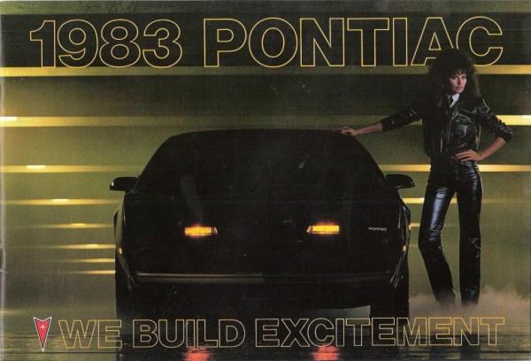 1983 Ponatiac We Build Excitement