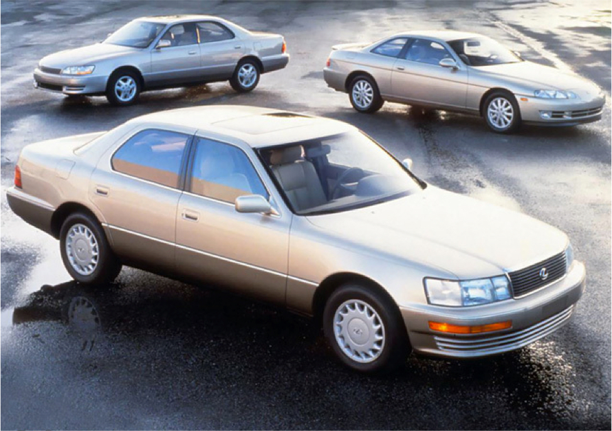 Lexus Lineup on 1991 Lexus Ls 400 Engine