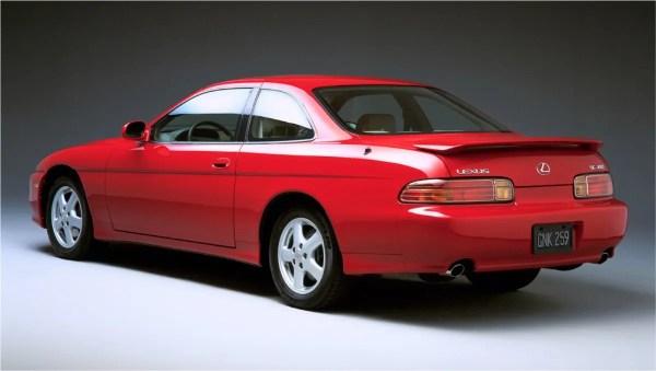 1997 SC 400 rear