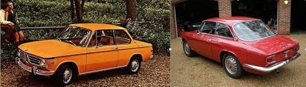 2 - BMW 2002 and Alfa GTV