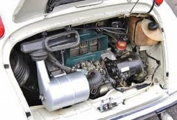 3 - Subaru 360 Engine
