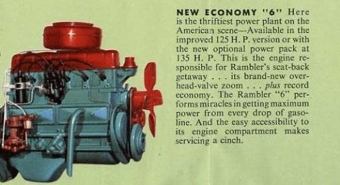 AMC 1957 six br
