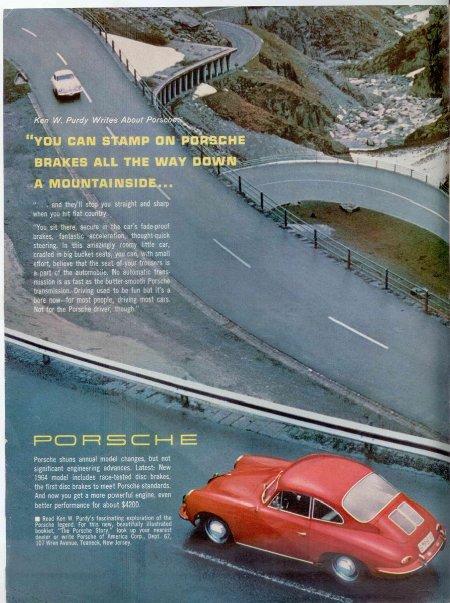 Vintage Magazine Ads: April 1964 Car and Driver – With Full Color ...