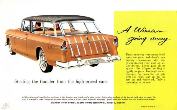Chevrolet 1955 Nomad br