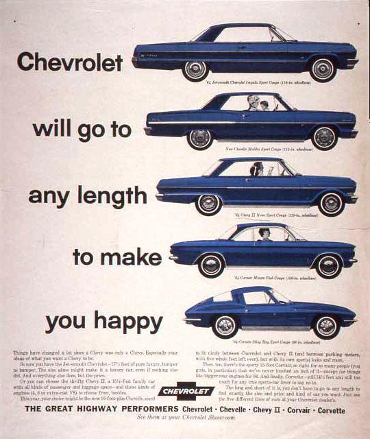Chevrolet 1964 ad