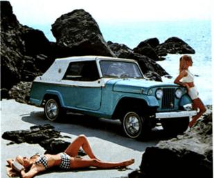 Jeepster 1966 custom conv