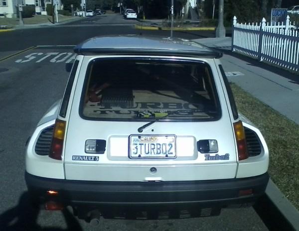Renault R5 Turbo II Rear Closeup