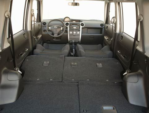 Scion xB int folded
